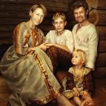 Алексей Ирина Игорь и Настенька